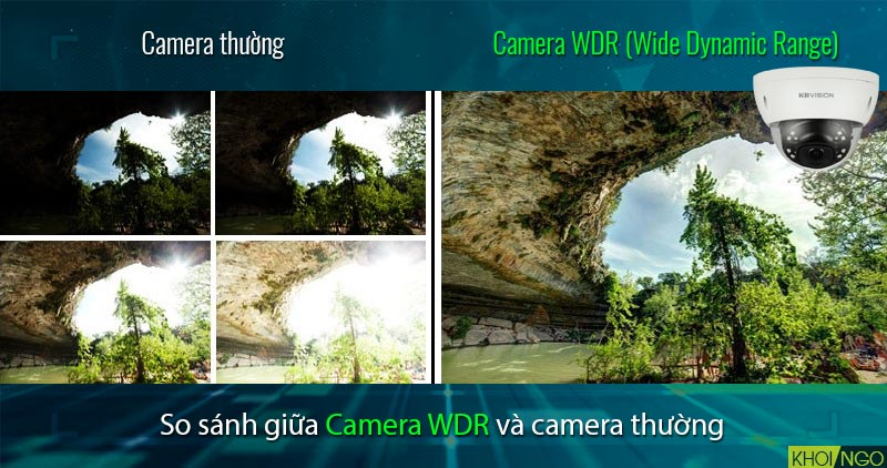 So sánh Camera IP KBVision KX-8002iN 8MP chuẩn WDR 120dB