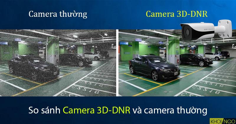 So sánh IP Camera KX-8005iN KBVision 8MP công nghệ 3D-DNR