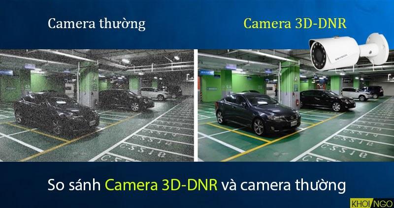 So sánh giữa Camera IP KBVision KX-3001N 3D-DNR và camera thông thường
