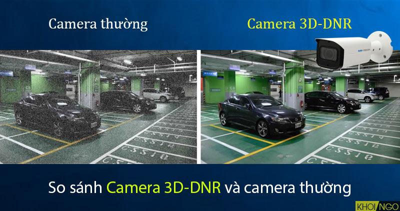 So sánh IP Camera KBVision KX-4005N2 4.0MP công nghệ chống nhiễu 3DNR