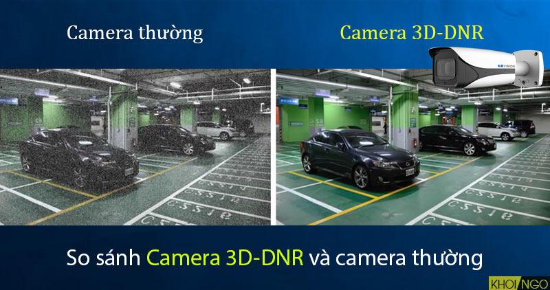 So sánh Camera IP 8MP KBVision KX-8005iMN (4K) công nghệ 3D-DNR