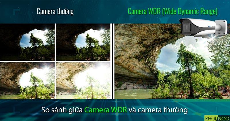 So sánh Camera IP 8MP KBVision KX-8005iMN (4K) công nghệ WDR 120dB
