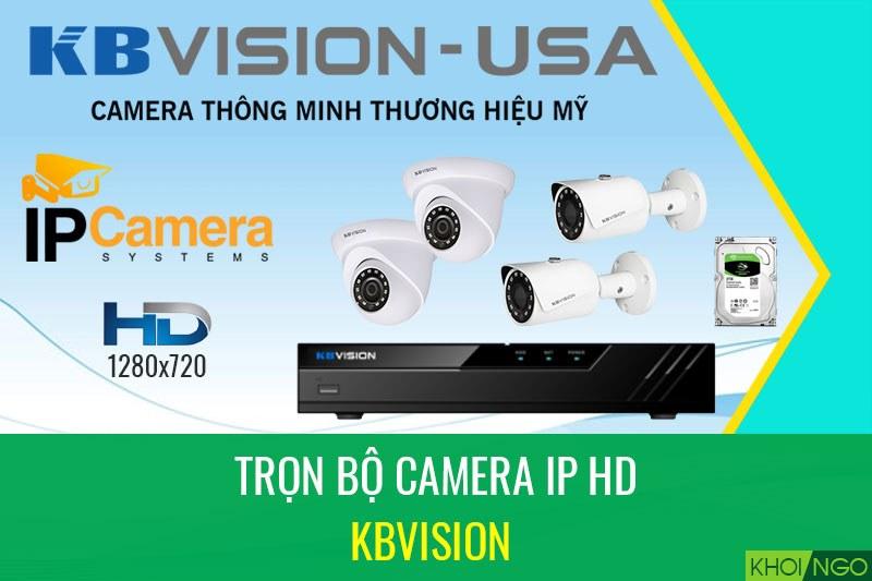 Bảng giá camera ip HD trọn bộ