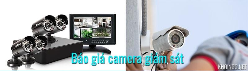 Báo giá camera giám sát