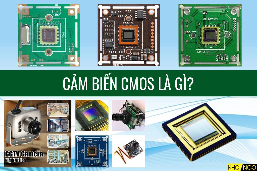 Cảm biến CMOS Chipset là gì?