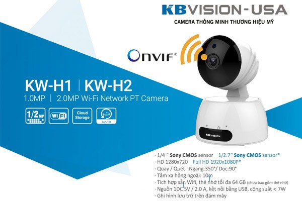Camera giám sát giá rẻ không dây
