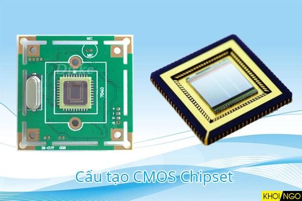 Cấu tạo cảm biến CMOS Chipset là gì