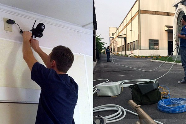 Chi phí lắp camera giám sát