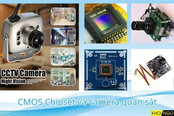 Chipset cảm biến CMOS là gì