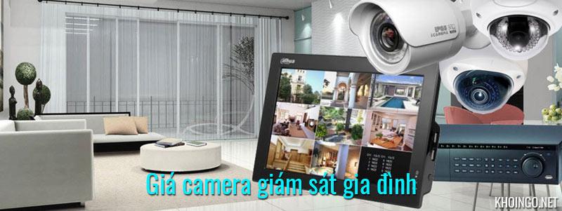 Giá camera giám sát gia đình