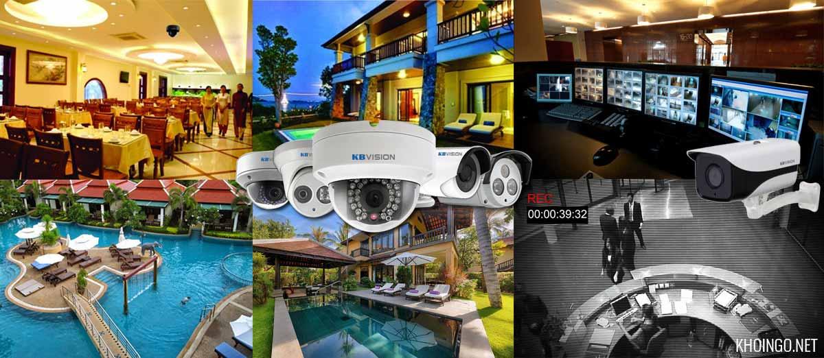 Giải pháp camera cho khách sạn resort