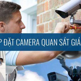 Lắp đặt camera quan sát giá rẻ