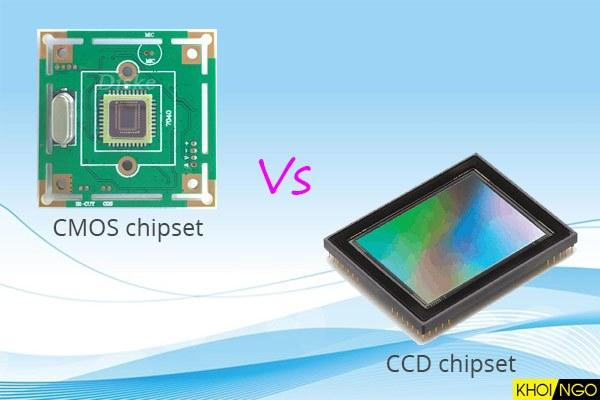 So sánh CMOS Chipset và CCD Chipset