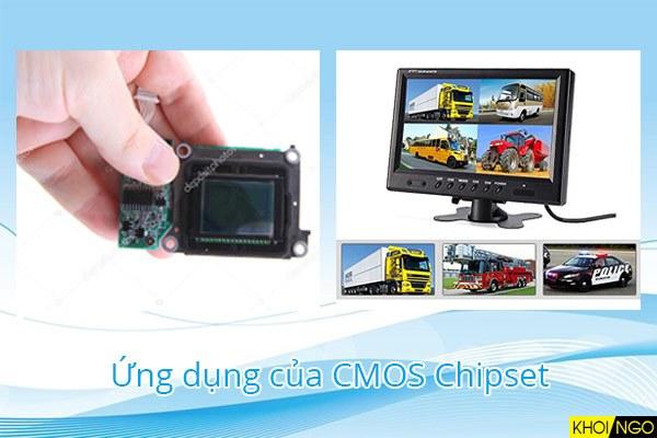 Ứng dụng sản xuất của cảm biến CMOS là gì