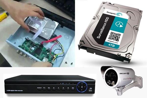 lưu trữ HDD trên camera quan sát là gì