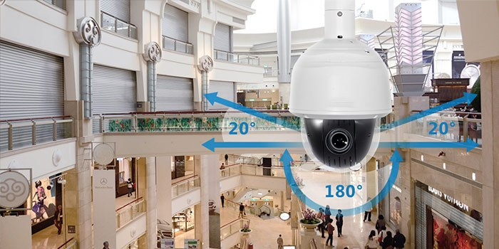 Cách chọn camera giám sát 360 độ Speed Dome PTZ nào tốt