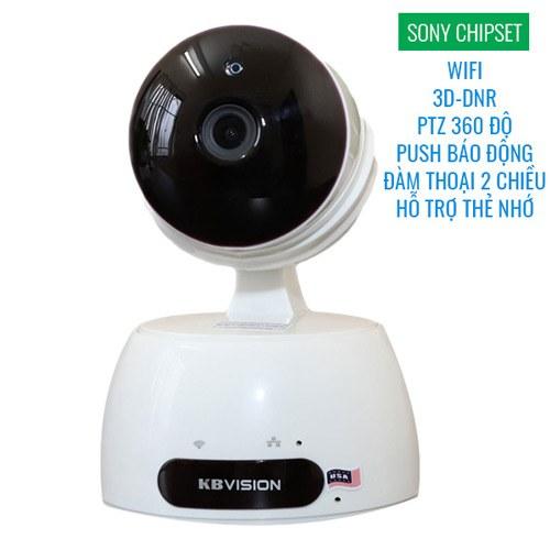 Camera giám sát 360 Full HD wifi Robot KBWin 1080p