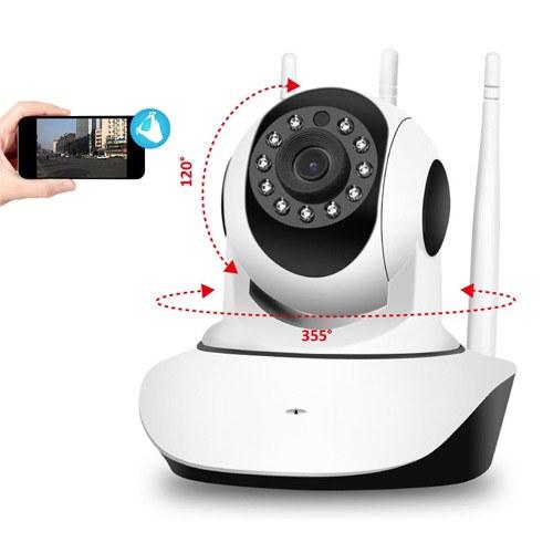 Camera giám sát 360 độ Robot IP wifi loại nào tốt