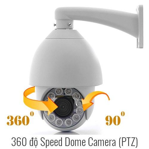 Camera giám sát 360 độ Speed Dome PTZ nào tốt