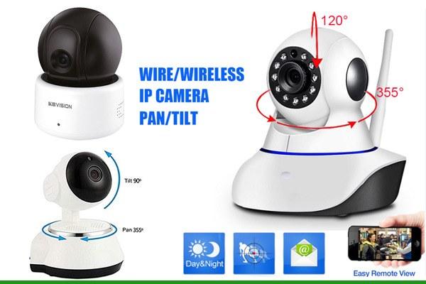 Camera giám sát 360 độ wifi robot cho gia đìnhloại nào tốt