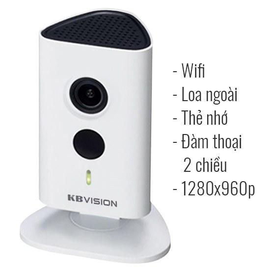 Camera giám sát HD không dây KBVision KX-H13WN