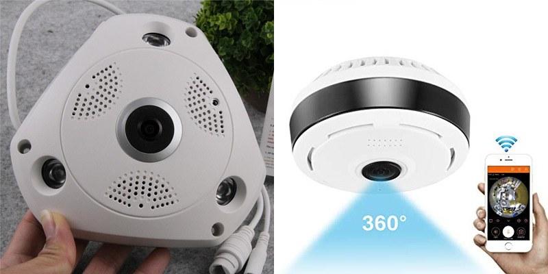 Camera giám sát Panoramic 360 độ loại nào tốt