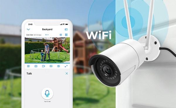 Lắp đặt camera giám sát qua điện thoại loại nào tốt wifi
