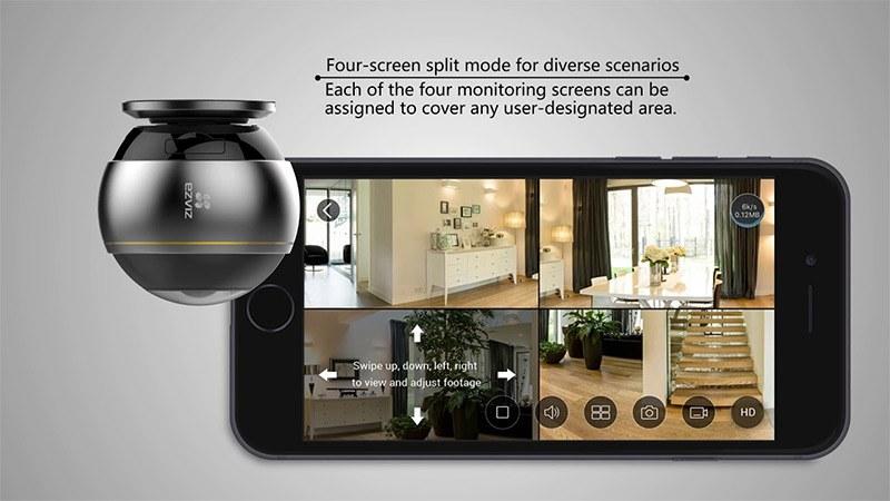 Đánh giá Camera Ezviz C6P EZ360 CS-CV346-(A0-7A3WFR) 3MP