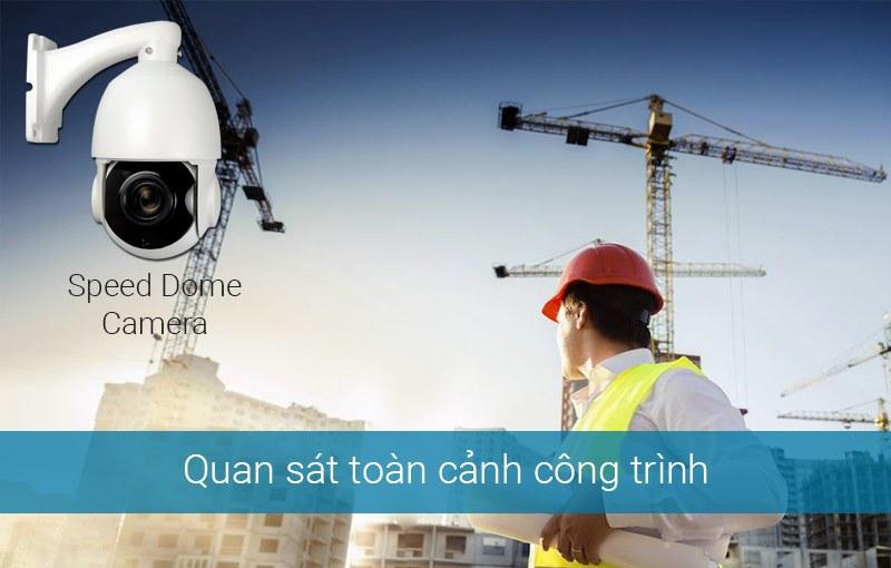 Lắp đặt camera quan sát cho công trình xây dựng