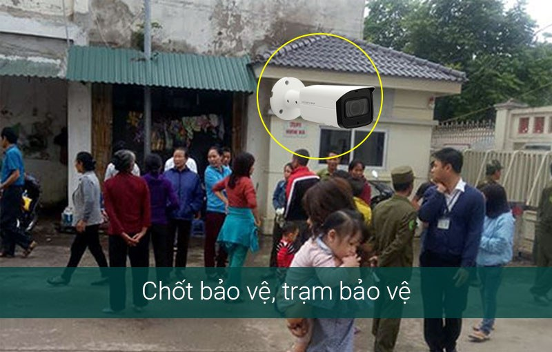 Giải pháp camera cho phòng bảo vệ bệnh viện