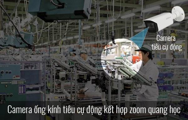 Giải pháp camera quan sát khu vực sản xuất cho nhà máy