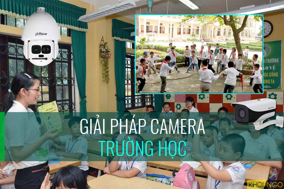 Giải pháp camera Trường học