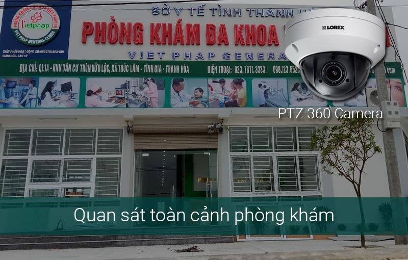 Giải pháp lắp camera cho phòng khám