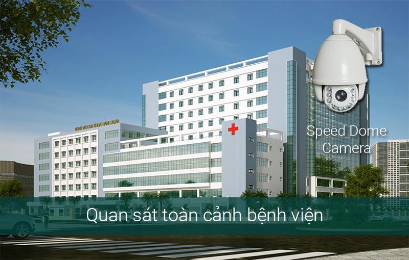 Giải pháp lắp camera tại cổng bệnh viện