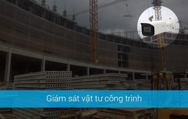 Lắp đặt camera giám sát vật tư công trình xây dựng