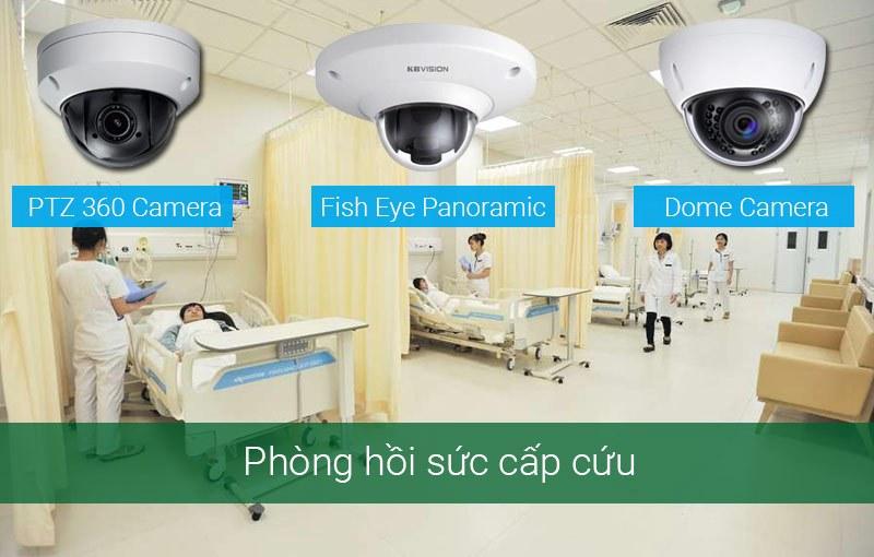 Lắp camera cho phòng hồi sức cấp cứu