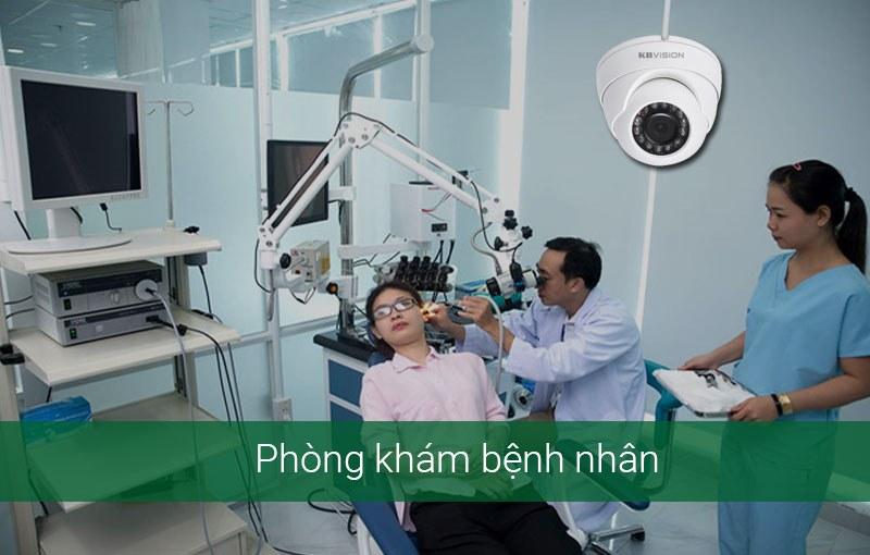 Lắp camera cho phòng khám bệnh nhân