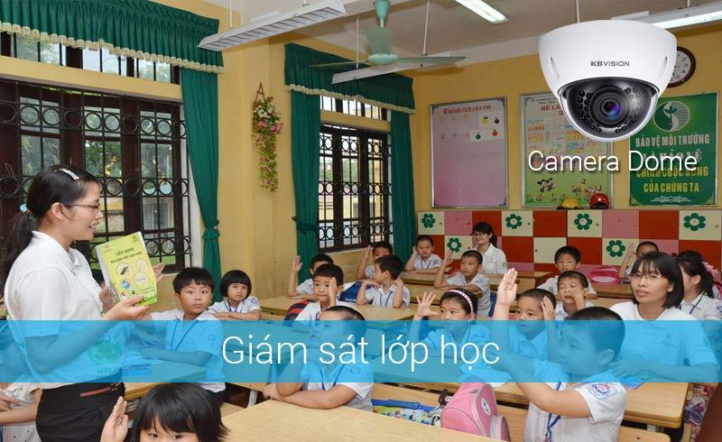 Lắp camera giám sát lớp học