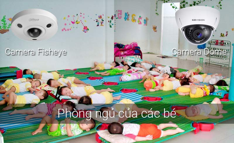 Lắp camera tại phòng ngủ của các bé