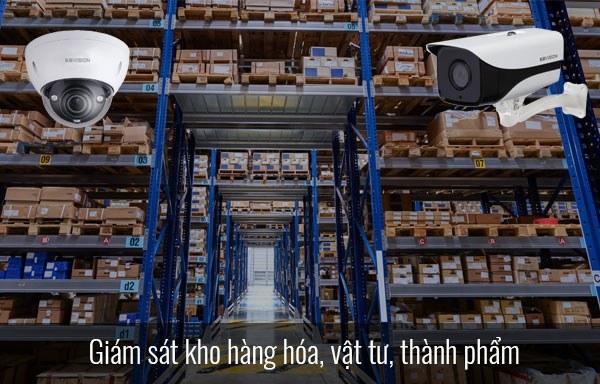 Lắp đặt camera cho kho hàng của nhà máy