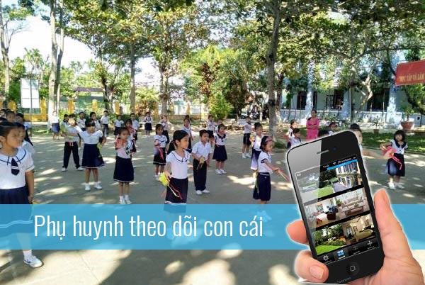 Lắp đặt hệ thống camera quan sát cho trường học
