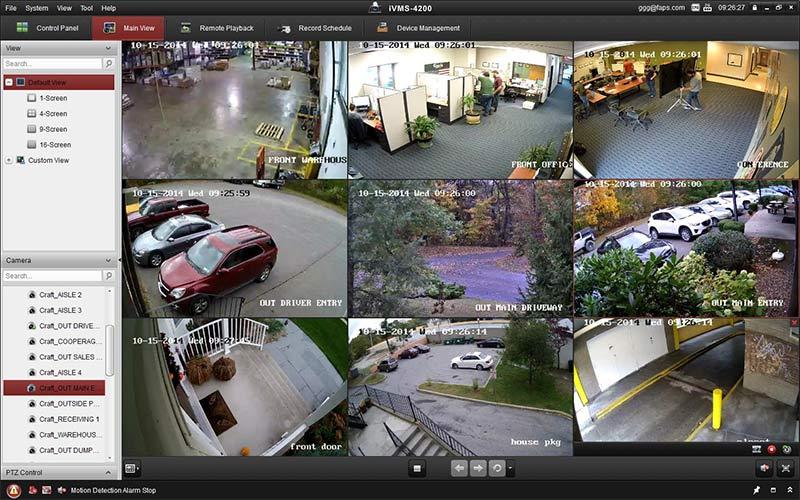 Phần mềm camera cho nhà xưởng cho máy tính