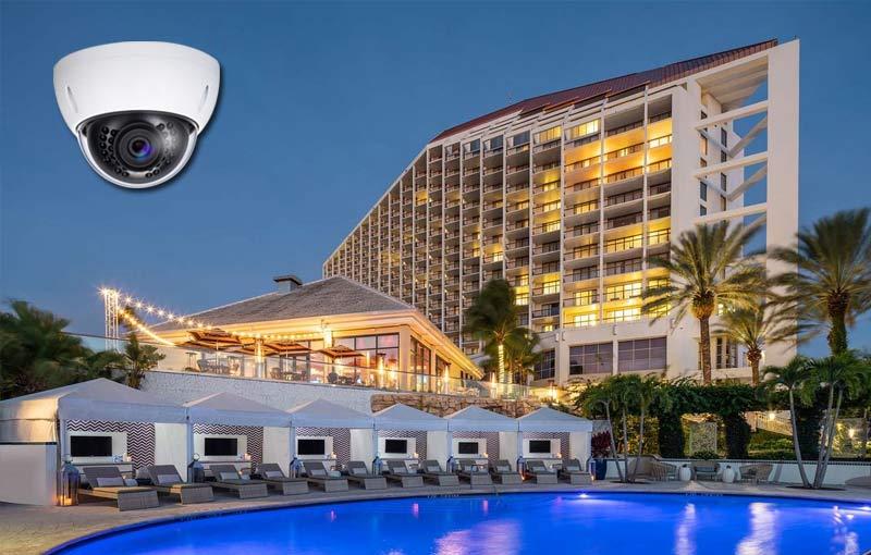 Giải pháp lắp đặt camera cho khách sạn, resort