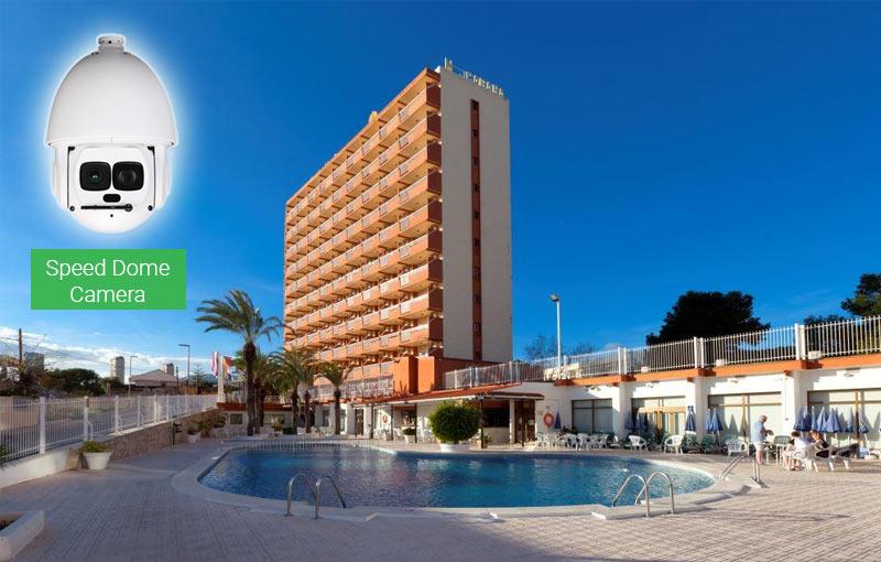 Lắp camera Speed Dome cho Khách sạn, Resort