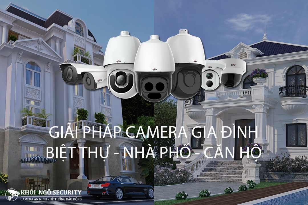 Giải pháp camera gia đình (căn hộ, biệt thự, nhà phố)