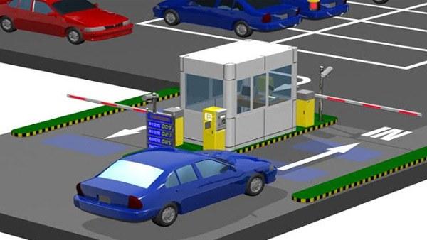 Quản lý bãi xe thông minh với camera IVS