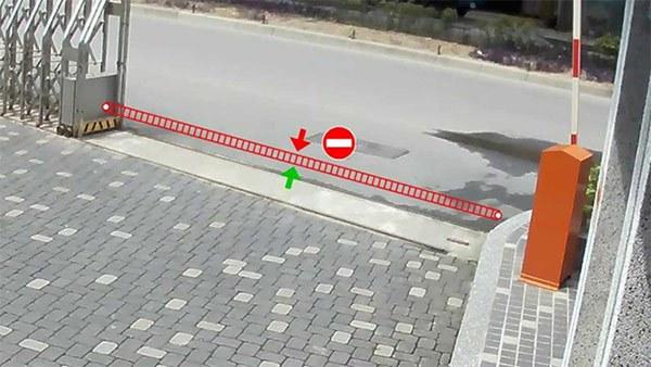 Công nghệ IVS cross line detection