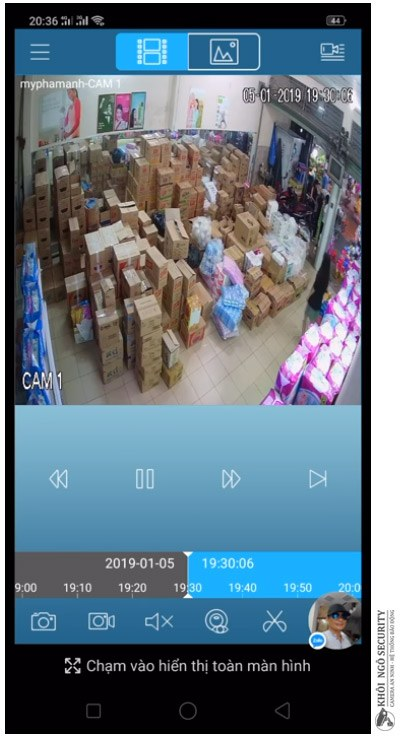 Hướng dẫn xem lại camera kbview lite trên điện Thoại từ xa