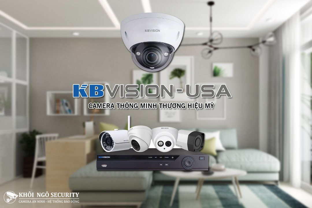 Lắp đặt camera KBVision