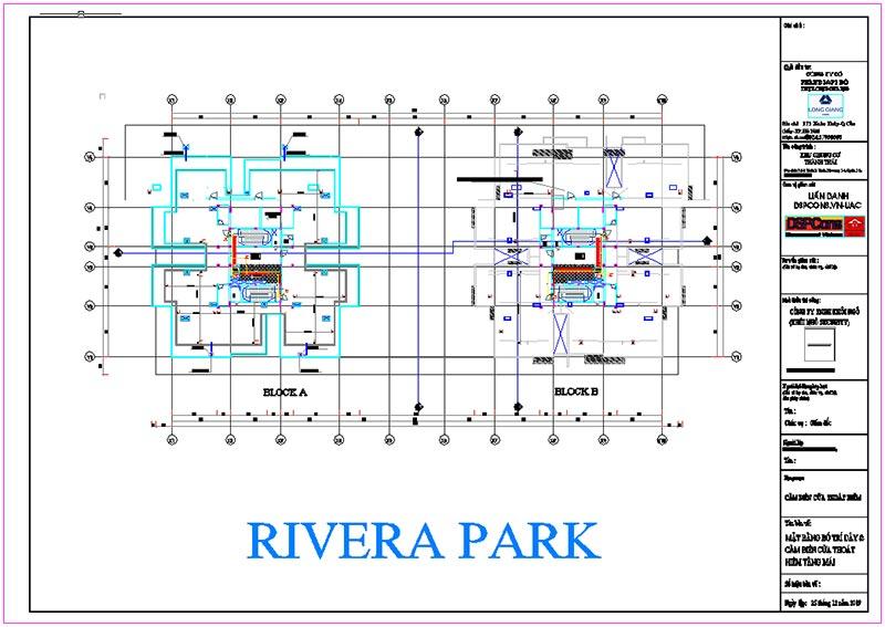 Bản vẽ thi công camera Rivera Park